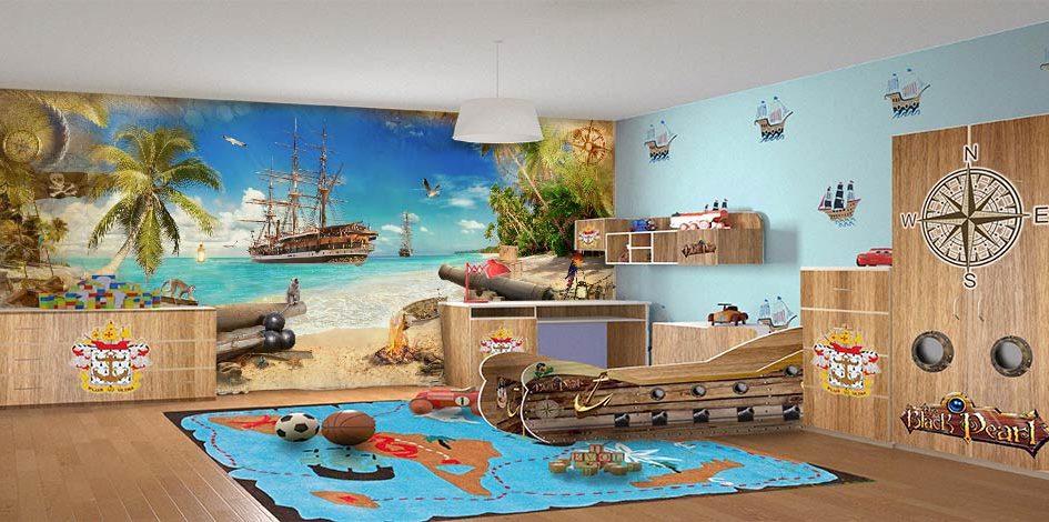 фотообои пиратский остров