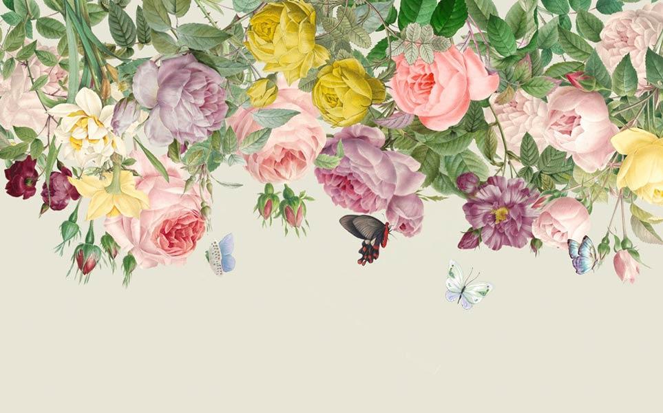 Фотообои Цветы 4557347949