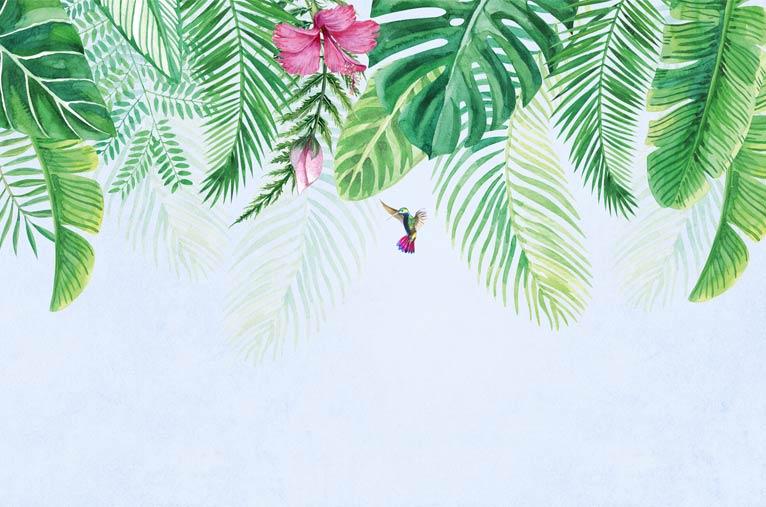 Фотообои Листья пальмы 650437146