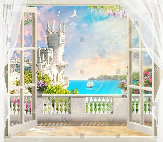 Фотообои Вид с балкона 705778021