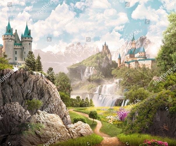 Фотообои Замок 731589052