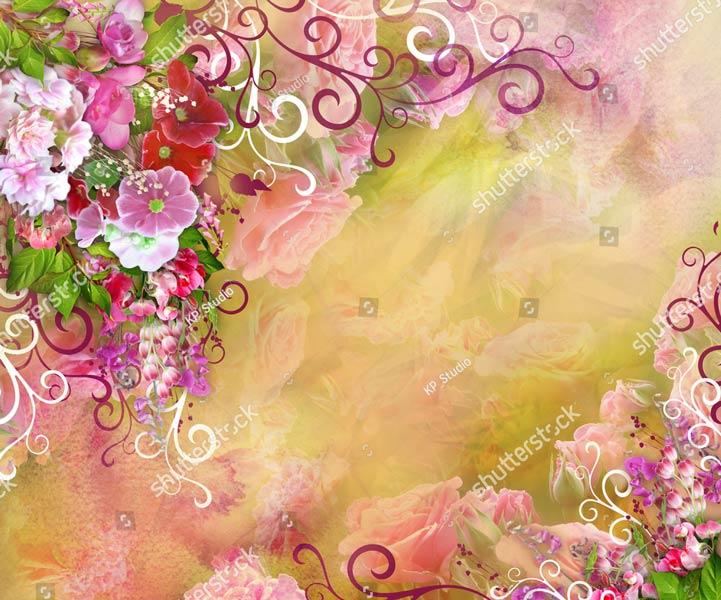 Фотообои Цветы 755270176