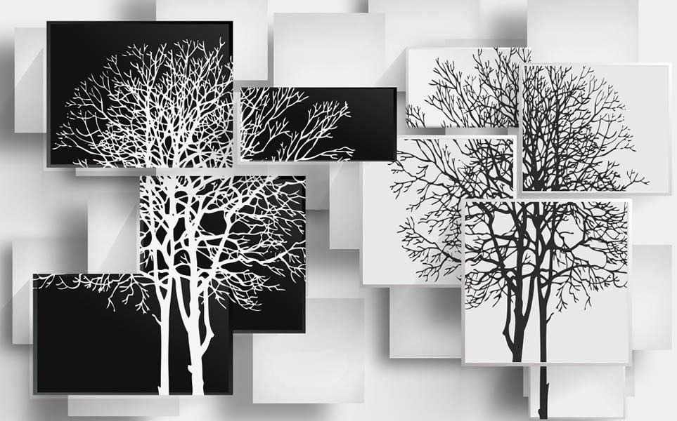 фотобои 3д дерево 638348842