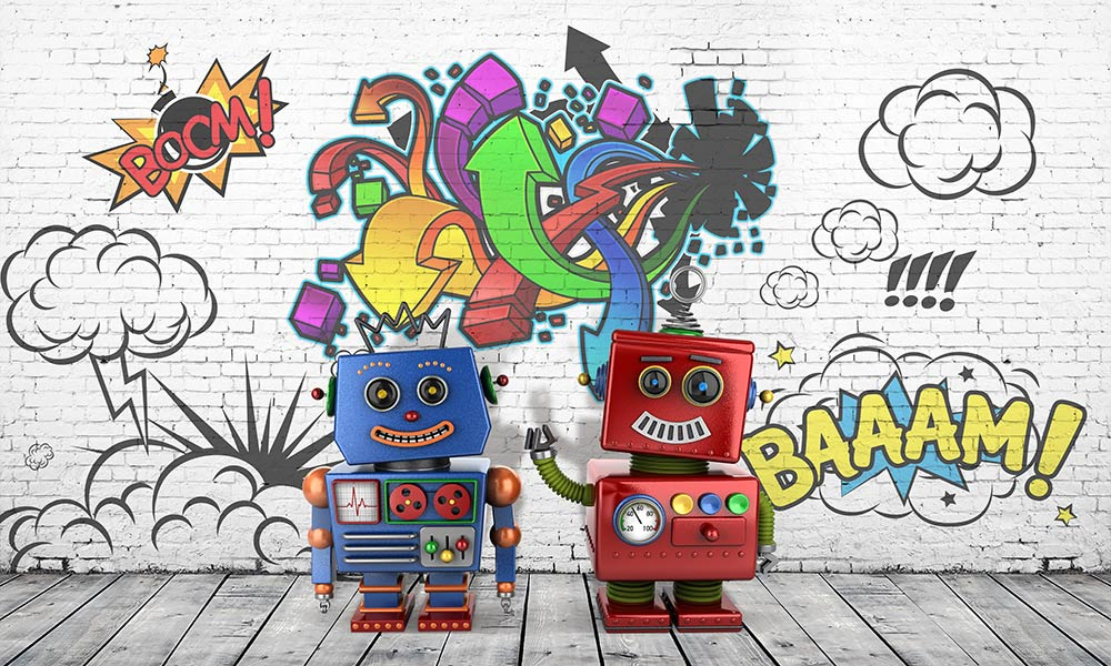 Фотообои Роботы 1245206876