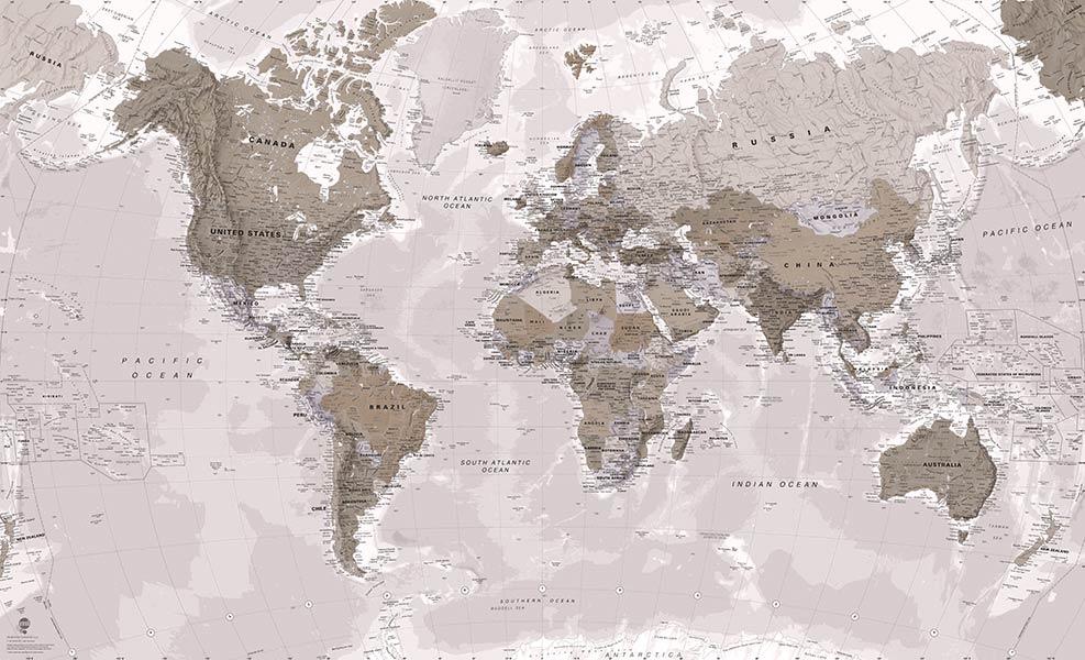 Фотошпалери Мапа Світу 76149841436_2