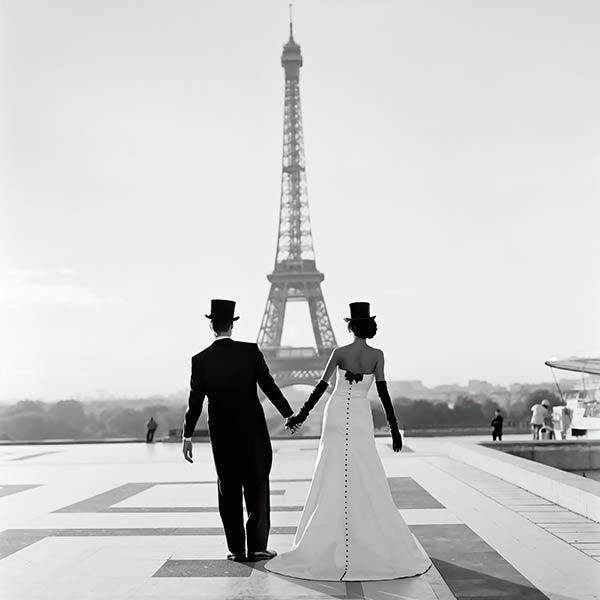 фотообои Париж и любовь 135437946