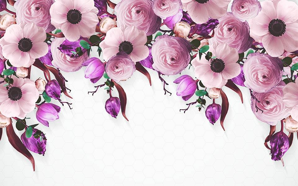 Фотообои Цветы 5358436544_2
