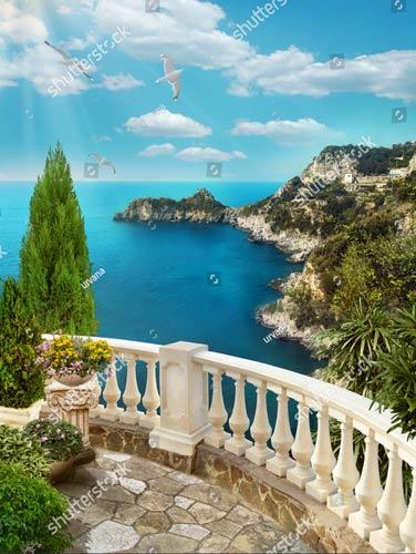 Фотошпалери Вид з балкону 1126857782