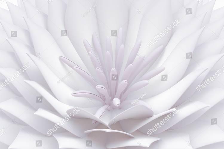 Фотообои 3д цветы 771208744
