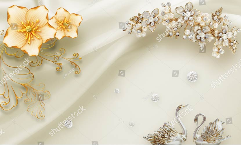 Фотошпалери 3д квіти 1278653218