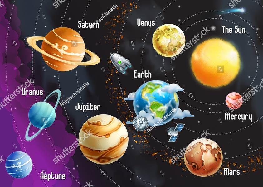 Фотошпалери Космос 297885530