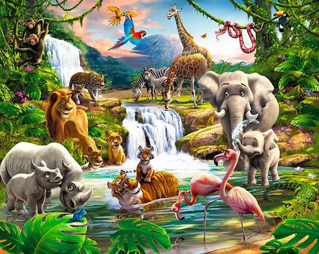 Фотообои Детские джунгли 230523473