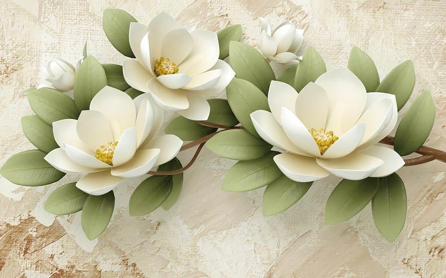 фотообои 3д цветы 5648751467