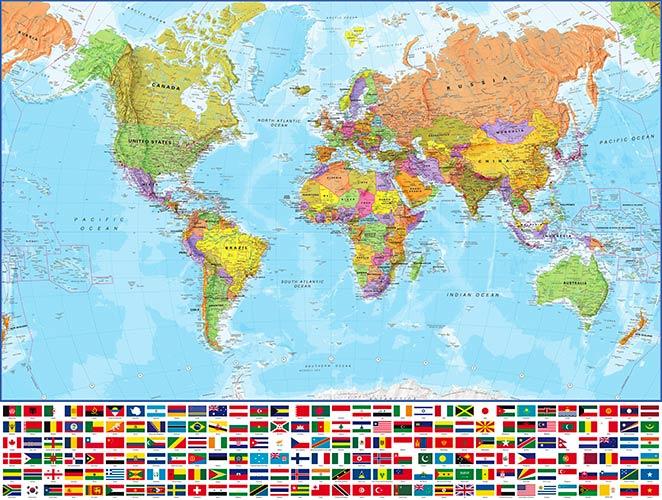 фотошпалери карта світу 46786737678