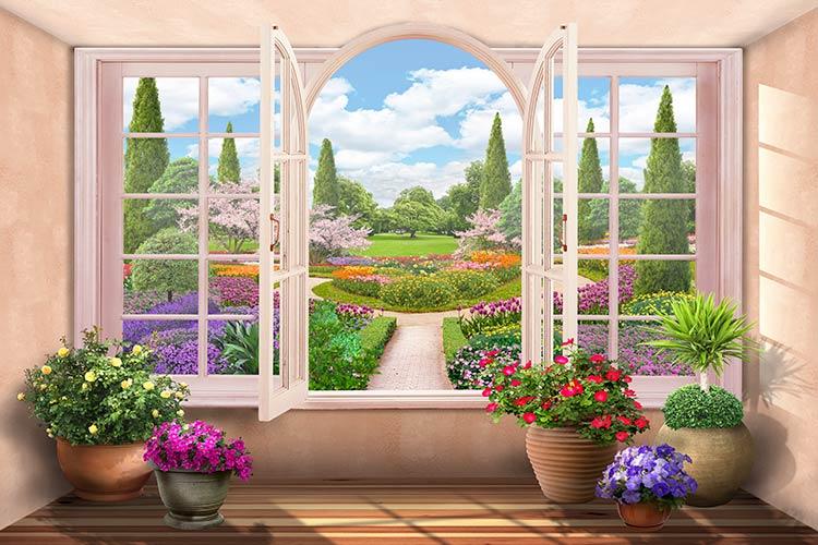 фотообои вид с окна