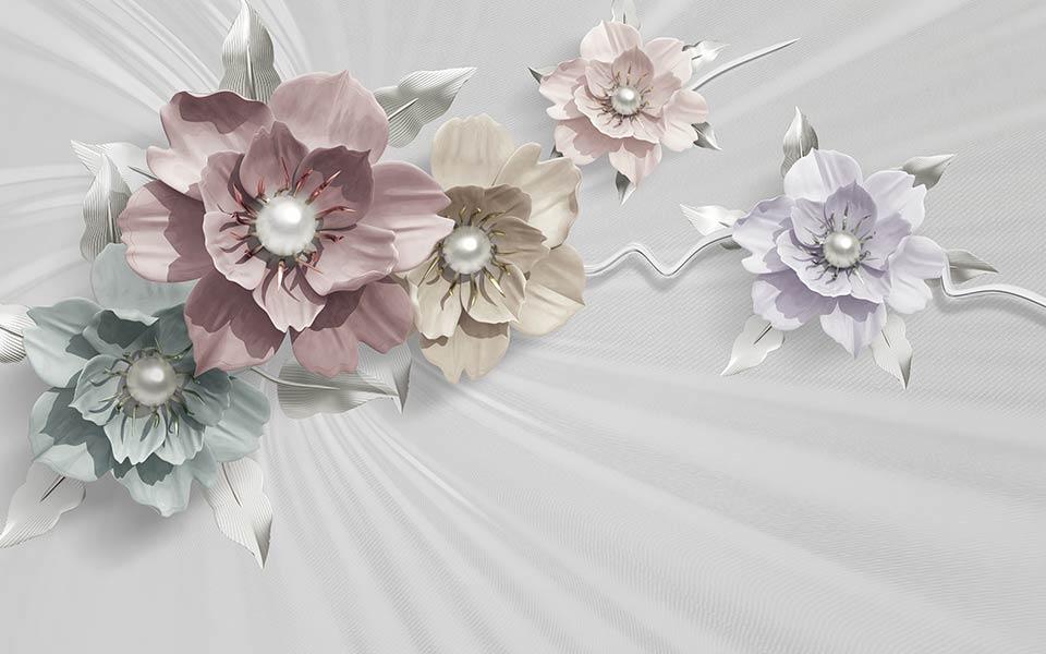 фотообои 3д квіти 546587667