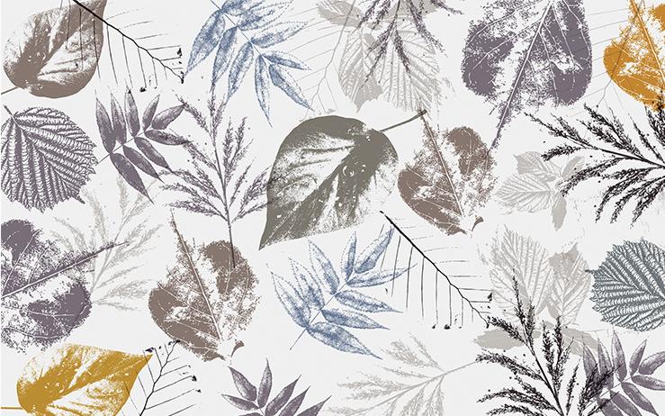 фотообои арт листья 1021156400