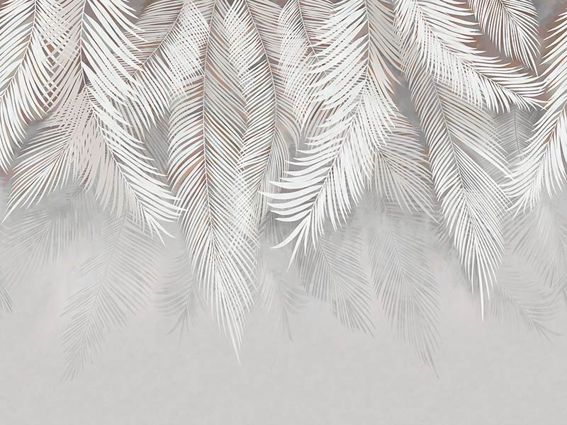 фотообои нежные листья 568734736